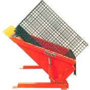 PrestoLifts™ Floor Level Powered Tilt Table TZ44-60H Hand Control 6000 Lb.