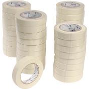 "Shurtape Masking Tape CP 106 1"" X 60 Yd Tan, Pkg Qty 36"