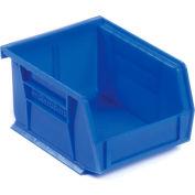 "Akro-Mils AkroBin® Plastic Stacking Bin 30210 - 4-1/8""W x 5-3/8""D x 3""H, Blue - Pkg Qty 24"