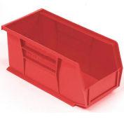 "Akro-Mils AkroBin® Plastic Stacking Bin 30230 - 5-1/2""W x 10-7/8""D x 5""H, Red - Pkg Qty 12"