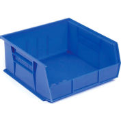 "Akro-Mils AkroBin® Plastic Stacking Bin 30235 - 11""W x 10-7/8""D x 5""H, Blue - Pkg Qty 6"