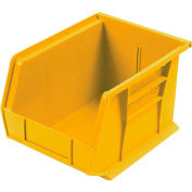 Akro-Mils AkroBin® Plastic Stacking Bin 30329 -  8-1/4 x 10-3/4 x 7 Yellow - Pkg Qty 6