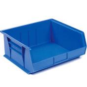 "Akro-Mils AkroBin® Plastic Stacking Bin 30250 - 16-1/2""W x 14-3/4""D x 7""H, Blue - Pkg Qty 6"