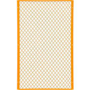 Global Industrial™ 3' W Machinery Wire Fence Partition Panel