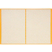 7' W Machinery Wire Fence Partition Panel