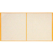 Global Industrial™ 9' W Machinery Wire Fence Partition Panel