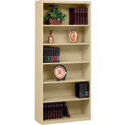 """Welded Steel Bookcase 78""""H - Sand"""