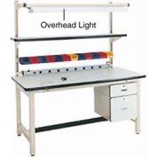 "72"" Overhead Light - Blue for Pro-Line Workbench"