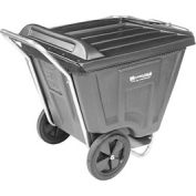 Akro-Mils® 76491 Low Profile Gray 90 Gallon Tilt Cart With Lid