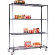 Nexelon™ Wire Shelf Truck 48x24x69 1200 Lb. Capacity
