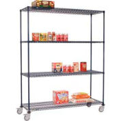Nexelon™ Wire Shelf Truck 36x24x80 1200 Lb. Capacity