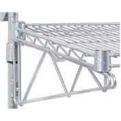 "Adjustable Single Shelf Support Kit 24"" Deep"