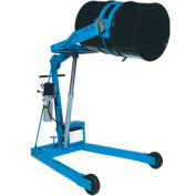 """Morse® Mobile Drum Lift and Tilt 400A-96 96"""" High for 55 Gal Drum - Pull Chain Rotation"""