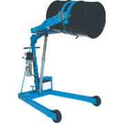 """Morse® Mobile Drum Lift and Tilt 400A-96-125 12V 96"""" High for 55 Gal Drum - Pull Chain Rotation"""