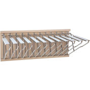 Brookside Design - Pivot Wall Mount Blueprint Storage Rack with 12 Hangers