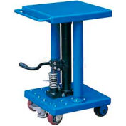 Work Positioning Post Lift Table Foot Control 500 Lb. Capacity