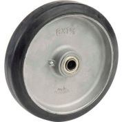 "Wesco® 8"" x 1-1/2"" Mold-On Rubber Wheel 108545 - 5/8"" Axle Size"