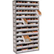 Steel Open Shelving 13 Shelves No Bin - 36x18x73