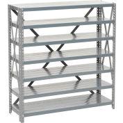 """Global Industrial™ Steel Open Shelving 7 Shelves/No Bin, 36""""W x 12""""D x 39""""H"""
