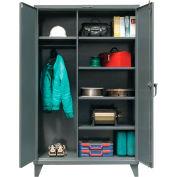Strong Hold® Heavy Duty Wardrobe Storage Cabinet 46-W-245 - 48x24x78