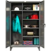 Strong Hold® Heavy Duty Wardrobe Storage Cabinet 56-W-245 - 60x24x78