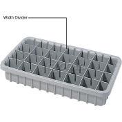 Dandux Width Divider 50P0015027 for Dividable Nesting Box 50P1816030, Gray