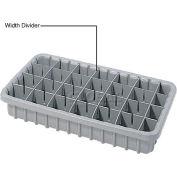 Dandux Width Divider 50P0004047 for Dividable Nesting Box 50P1805050, Gray