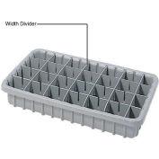 Dandux Width Divider 50P0010067 for Dividable Nesting Box 50P1811070, Gray