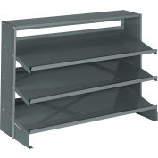 Bench Pick Rack For Corrugated Shelf Bins Without Bins