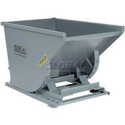Stacking Feature for 1-1/2 Cu Yd and Greater Wright Gray Self-Dumping Hoppers