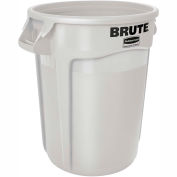 Rubbermaid Brute® 2620 Trash Container 20 Gallon - White