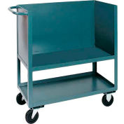 Jamco Elevated Deck Box Truck BC136 3 Enclosed Solid Steel Sides 36x18