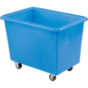 Dandux Blue Plastic Box Truck 51126006U-3S 6 Bushel Medium Duty