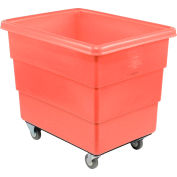 Dandux Red Plastic Box Truck 51126020R-3S 20 Bushel Medium Duty