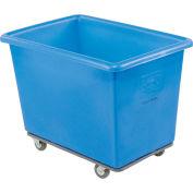 Dandux Blue Plastic Box Truck 51-116006U-3 6 Bushel Heavy Duty