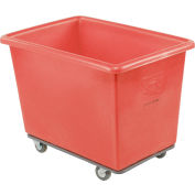 Dandux Red Plastic Box Truck 51116006R-3S 6 Bushel Heavy Duty