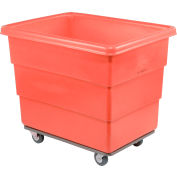 Dandux Red Plastic Box Truck 51116010R-3S 10 Bushel Heavy Duty