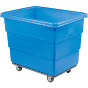 Dandux Blue Plastic Box Truck 51116016U-4S 16 Bushel Heavy Duty