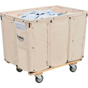 Global Industrial™ Best Value 12 Bushel Canvas Basket Bulk Truck