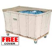 Best Value 16 Bushel Canvas Basket Bulk Truck