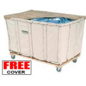 Best Value 24 Bushel Canvas Basket Bulk Truck