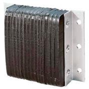 """Durable Heavy Duty Dock Bumper B4524-11 11""""W x 4-1/2""""D x 24""""H"""