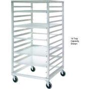 New Age 97213 Aluminum Tray Truck 36 x 33 x 66 with 28 Tray Capacity