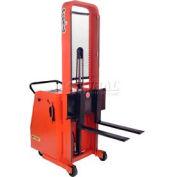 "PrestoLifts™ Battery Powered Lift Counter Balance Stacker C74A-400 74""H"