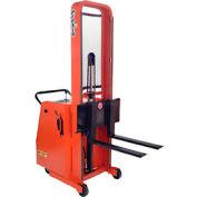 "PrestoLifts™ Battery Powered Lift Counter Balance Stacker C74A-15LC 74"""