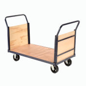 Euro Truck with Wood Ends & Deck 60 x 30 2000 Lb. Capacity