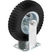 "Rigid Plate Caster 6"" Full Pneumatic Wheel 200 Lb. Capacity"