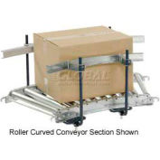 Steel Guard Rail Kit (Pair) GCBS-5-1.6-A for Omni Metalcraft 5' Straight Roller Conveyor