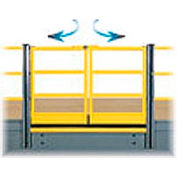 "Mezzanine Swing Gate 2 Rail 6'Lx42""H"