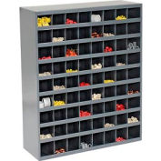 Durham Steel Storage Parts Bin Cabinet 363-95 Open Front - 72 Compartments